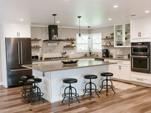 Knight Classic Farmhouse Kitchen Remodel